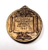 1947  MOLFETTA FERDINANDO LANDOLFI. ATHLETICS ATLETICA MEDAL MEDAGLIA SPORT - Athletics