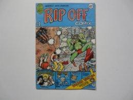 BD ANGLAIS : RIP OFF COMIX N° 1 - Livres, BD, Revues