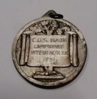1951 CUS  BARI. ATHLETICS ATLETICA MEDAL MEDAGLIA SPORT - Athletics