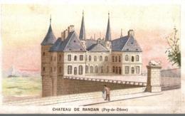 L ECONOMIE MENAGERE L BOISSELAT  CHATEAU DE RANDAN - Chromos