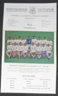 Tottenham Hotspur Spurs Season 1963-64 Authograph SIGNATURE - Authographs