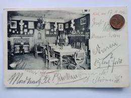 Kiel, Stormarenkneipe, Innenansicht, 1906 - Kiel