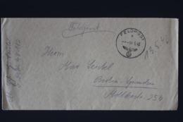 DR Feldpost Brief Mit Inhalt, Leningrad 1943 Mit Detaillierte Festlegung Berlin - Briefe U. Dokumente