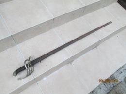 Sabre épée Modèle 1882 D'officier D'infanterie Française 14/18 Ww1 - Knives/Swords