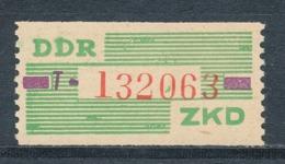 DDR Dienstmarken B 24 ** Kennbuchstabe T Mi. 10,- - Dienstpost