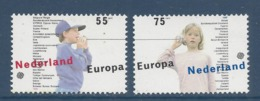 Pays Bas - Europa - Yt N° 1334 Et 1335 - Neuf Sans Charnière - 1989 - 1980-... (Beatrix)