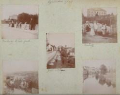 230919 - 10 PHOTOS 1901 - 87 EYMOUTIERS Toulondit Route De Treignac - ESPAGNE PAYS BASQUE Saint Sébastian - Eymoutiers