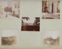 230919 - 10 PHOTOS 1903 - 87 EYMOUTIERS La Font Macaire église Intérieur Et Extérieur Fontaine De Fougeole Bain Enfant - Eymoutiers