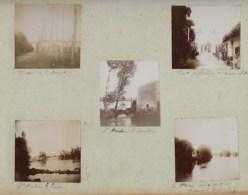 230919 - 10 PHOTOS 1901 - 86 ST MARTIN LA RIVIERE - Viaduc De SAINT BENOIT Pont Suspendu BONNEUIL MATOURS - Saint Benoit