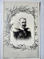 CPA. Guillaume II , Roi De WURTEMBERG - Décor Art Nouveau. TBE - Familles Royales