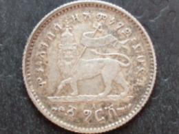 ETHIOPIE ARGENT GERSCH 1889 A - Ethiopie
