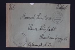 DR Feldpost Brief Mit Inhalt, Leningrad 1942 Mit Detaillierte Festlegung Wiener Neustadt - Briefe U. Dokumente