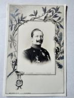 CPA. Guillaume II, Empereur D' ALLEMAGNE - Décor Art Nouveau - TBE - Familles Royales