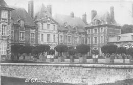 91-SAINT-CHERON- CARTE-PHOTO- LE CHATEAU DE BAVILLE - Saint Cheron