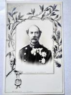CPA  Christian IX , Roi De Danemark - Décor Art Nouveau - TBE - Familias Reales