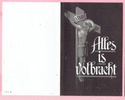 Bidprentje - Alfred Jan BOONS Echtg. Maria VAN DEN BOSCH - Geel 1901 - Leuven 1964 - Imágenes Religiosas