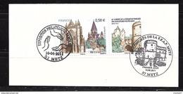 France :n° 4554 O Sur Un Support ,joli Cachet Expo Et Congrès - Used Stamps