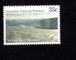 842242801 1985 SCOTT L67 POSTFRIS MINT NEVER HINGED EINWANDFREI (XX)  ICEBERG ALICE MAWSON - Territoire Antarctique Australien (AAT)