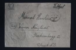 DR Feldpost Brief Mit Inhalt, Leningrad 1944 Mit Detaillierte Festlegung Wiener Neustadt - Storia Postale