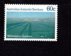 842243362 1987 SCOTT L70 POSTFRIS MINT NEVER HINGED EINWANDFREI (XX)  MIDWINTER SHADOWS - Territoire Antarctique Australien (AAT)