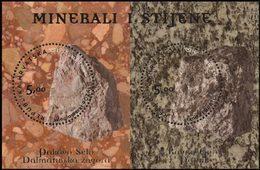 CROATIE Bloc Roches Et Minéraux 2012 Neuf ** MNH - Croatie
