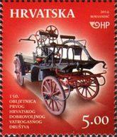 CROATIE 150ans Pompiers 1v 2014 Neuf ** MNH - Kroatië