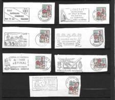 FRANCE 1962/65  Lot 7  Timbres N° 1331 +  Flamme Sur Fragment - Autres