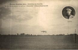 RENNES AVIATION 1910 AERODROME DES GAYEULLES GARROS A LA NUIT SUR DEMOISELLE CLEMENT BAYARD - Rennes