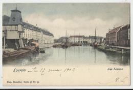 Leuven - Louvain - Les Bassins (ingekleurd) 1902 - Leuven