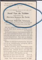 DP Jozef VAN DE VELDEN 1900 Lier 1943 (ongeluk) (wednr. De Corte En Tielemans) - Religion & Esotérisme