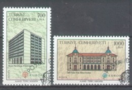 Turkey 1990; Europa Cept, Michel 2886-2887, Used. - Europa-CEPT