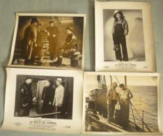 """4 Photos D'exploitation N & B : """"Le Récif De Corail""""  - 1939 - Avec Jean GABIN  Et Michèle MORGAN. - Fotos"""