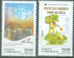 Turkey 1998; Europa Cept, Michel 3333-3334.** (MNH) - 2003