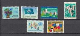 NATIONS  UNIES  VIENNE   1979/80   N°1 à 8    NEUFS**    CATALOGUE YVERT - Neufs