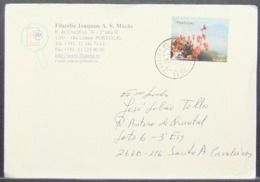 Portugal - Azores - Cover 2000 Europa Flower Double Currency 100$ - 0,50€ Solo - 1910-... República