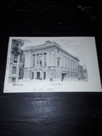 Cartolina Postale, Postcard 1900, Genève, Victoria Hall - GE Geneva