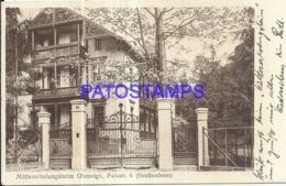 120212 GERMANY OBERNIGK MOTHERS REST HOME POSTAL POSTCARD - Deutschland