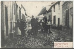 Leuven - Louvain - Cataclysme à Louvain 12 Mai 1906 - Rue Poirier 1907 - Leuven
