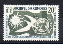 COMORES - YT N° 15 - Neuf ** - MNH - Cote: 12,00 € - Komoren (1950-1975)