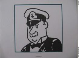 """Planche TINTIN """"L'oreille Cassée"""" Ed Hergé-Moulinsart 2011 - Posters"""
