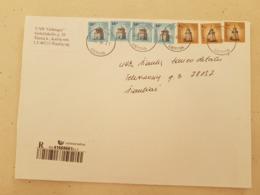 Lithuania Litauen Cover Sent From  Silenai To Siauliai  2008 - Lituania