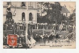 ARGENTRE - FETE DE JEANNE D'ARC - 24 AOUT 1913 - RECONNAISSANCE DU ROI - 35 - Other Municipalities