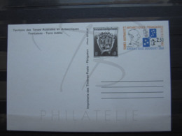 VEND ENTIER POSTAL DES T.A.A.F. N° 2-CP , NEUF !!! (c) - Enteros Postales