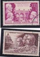 FRANCE Oblitéré N° 897/898 + CACHET ROND - REF MS - Used Stamps