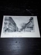 Cartolina Postale, Postcard 1900, Genève, Boulevard Du Théatre - GE Genève