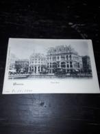 Cartolina Postale, Postcard 1900, Genève, Trois Rois - GE Geneva