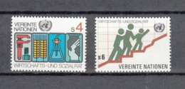 NATIONS  UNIES  VIENNE   1979/80   N° 14 - 15    NEUFS**   CATALOGUE YVERT - Neufs