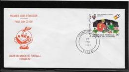 Thème Football - Coupe Du Monde Espagne 1982 - Comores - Enveloppe - Coppa Del Mondo