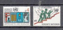 NATIONS  UNIES  VIENNE   1979/80   N° 14 - 15    OBLITERES   CATALOGUE YVERT - Centre International De Vienne