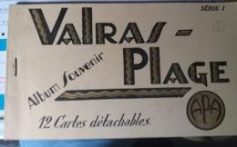 12 Cartes De Valras Plage - Francia